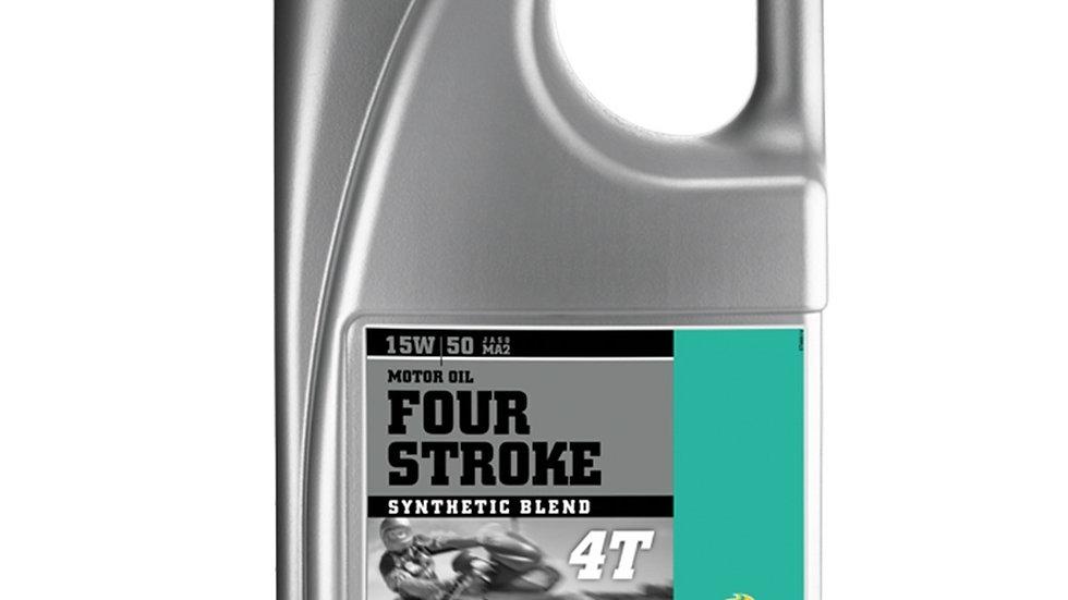 Motorex 4 Stroke 15W50 - 4 Litre
