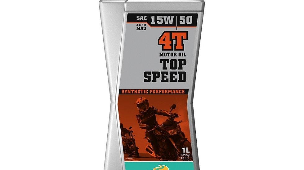 Motorex Top Speed MC 4T 15W50 - 1 Litre