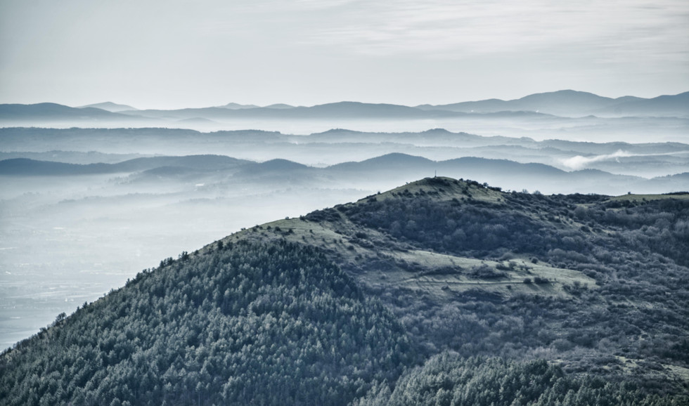mountains in Tuscany