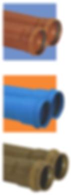 TUBOS EM PVC
