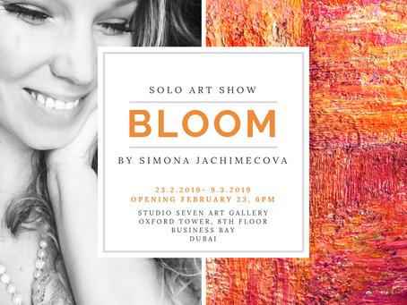 """Solo Exhibition """"Bloom"""""""