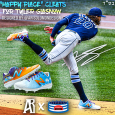 "Tyler Glasnow ""Happy Place"" customs"