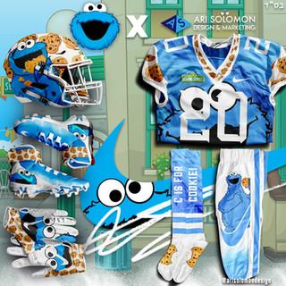 Cookie Monster Uniform
