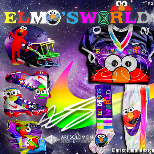 Elmo X Astroworld Uniform