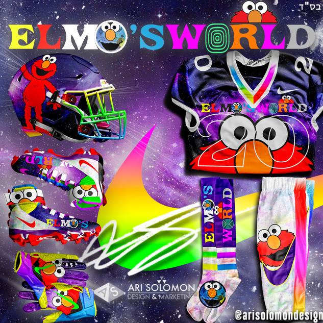 Elmo X Astroworld Uniform