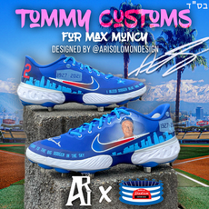 Tommy Lasorda Memorial Cleats for Max Mu