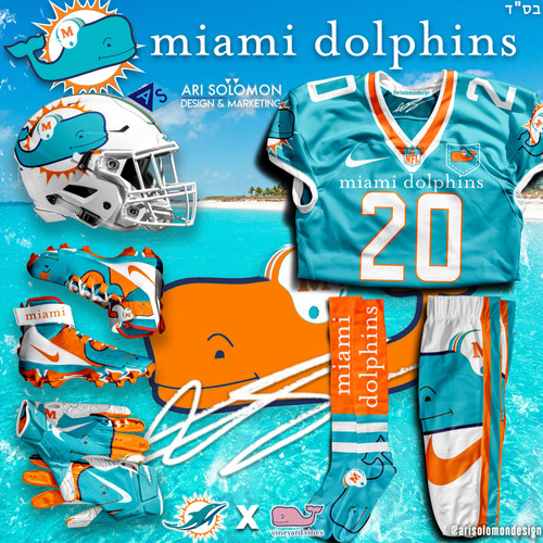 Dolphins X Vineyard Vines Uniform