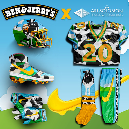 Ben and Jerry's X Ari Solomon Design