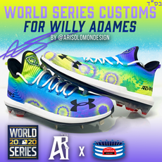 Willy Adames World Series Cleats