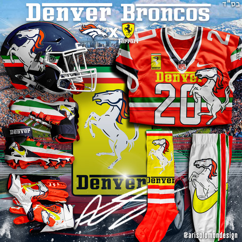 Broncos X Ferrari Uniform