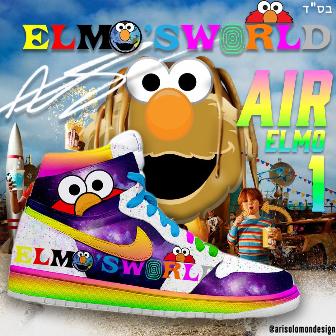 ElmoXAstroworld Sneakers