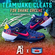 Shane Greene NLCS Cleats