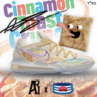 Cinnamon Toast crunch Lebrons