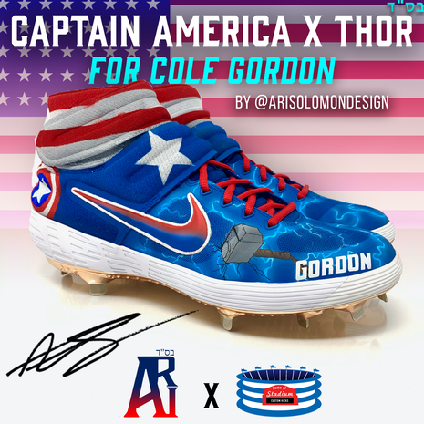 Cole Gordon Captain America X Thor Cleat