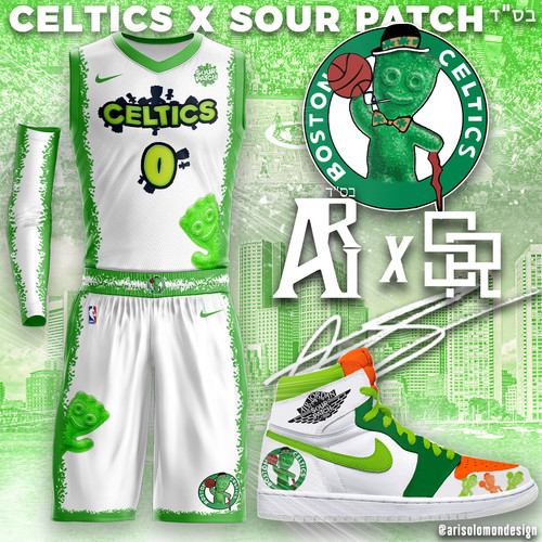 Celtics X Sour Patch