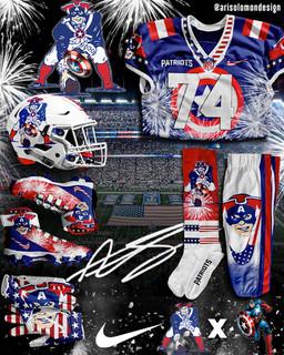 Patriots X Captain America