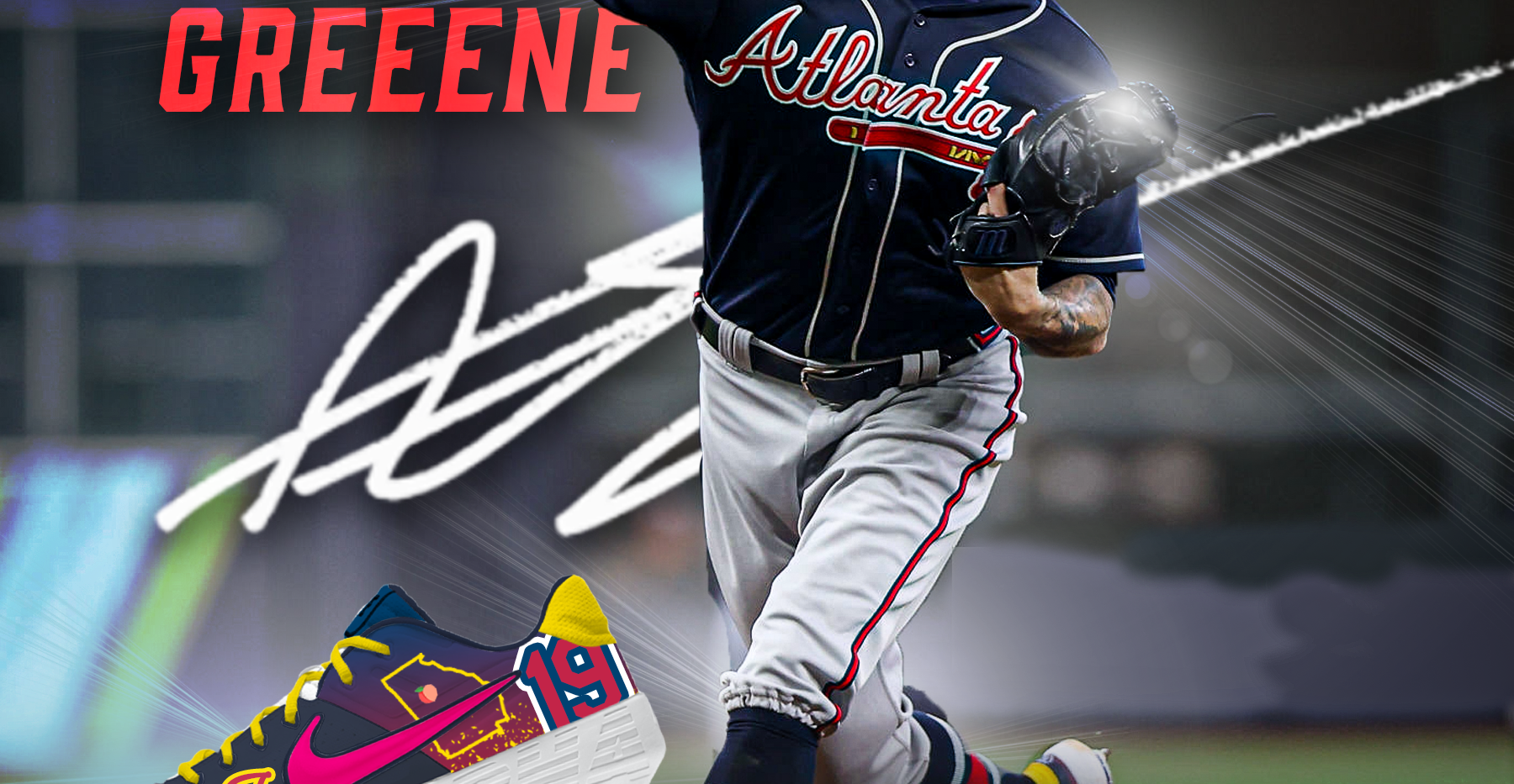 Shane Greene NLCS Cleats