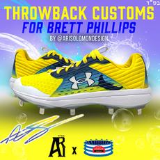 Brett Phillips Customs For 2020 MLB Post