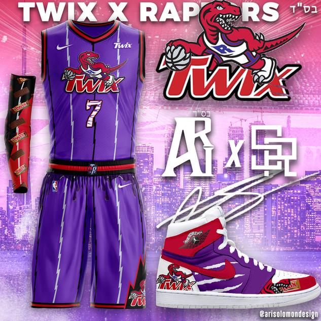 Raptors X Twix
