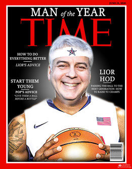 Lior TIME Cover