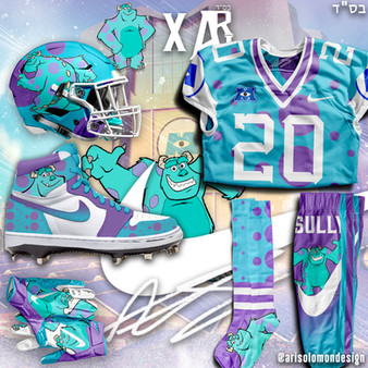 Ari x Sully Uniform