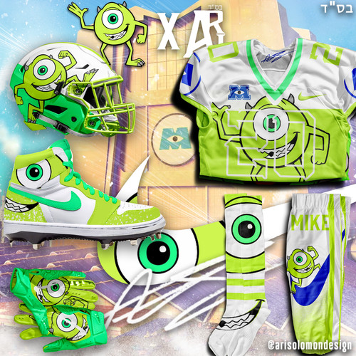 Ari x Mike Wazowski Uniform
