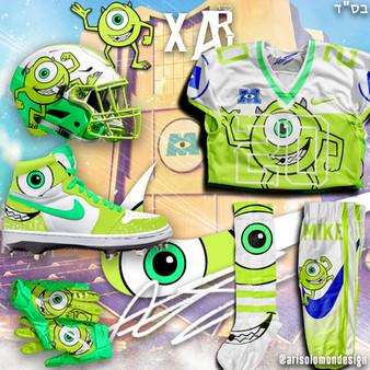 Ari x Mike Wazowski Uniform