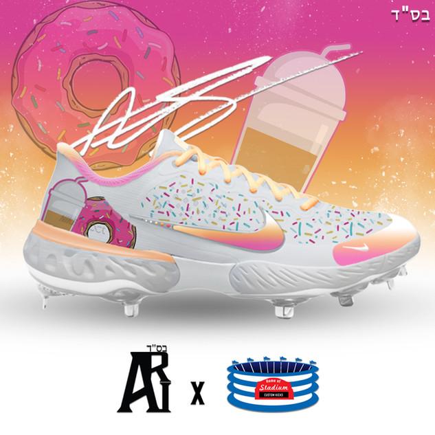 Dunkin' Alpha Hurahce Baseball Cleats