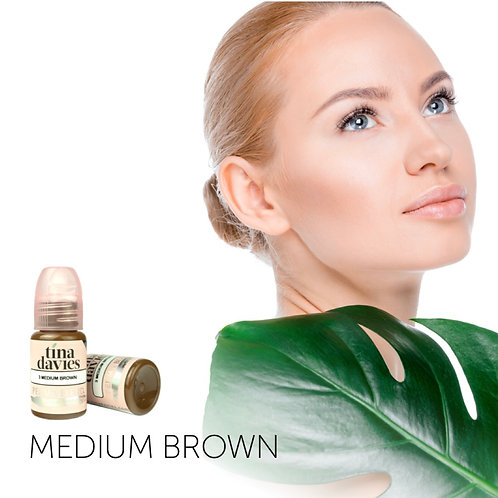 Medium Brown Pigment (1/2 oz)