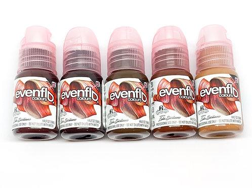 Evenflo colours  brow set