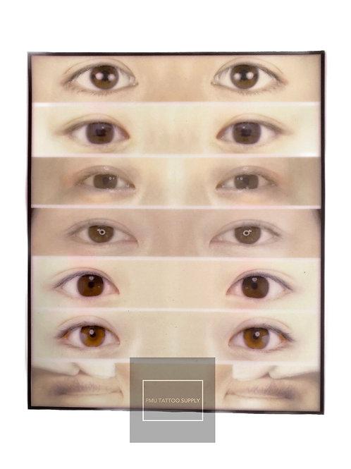 Latex Eyeliner practice pad (1PC)
