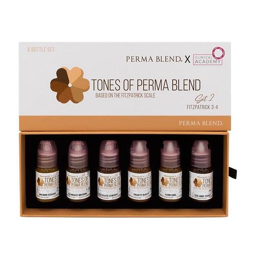 TONES OF PERMA BLEND - FITZPATRICK 3-4 SET 2