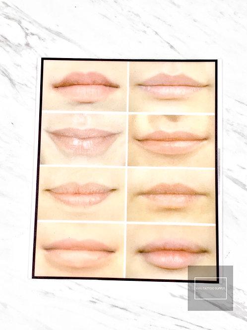 Lips latex practice pad (1pc)