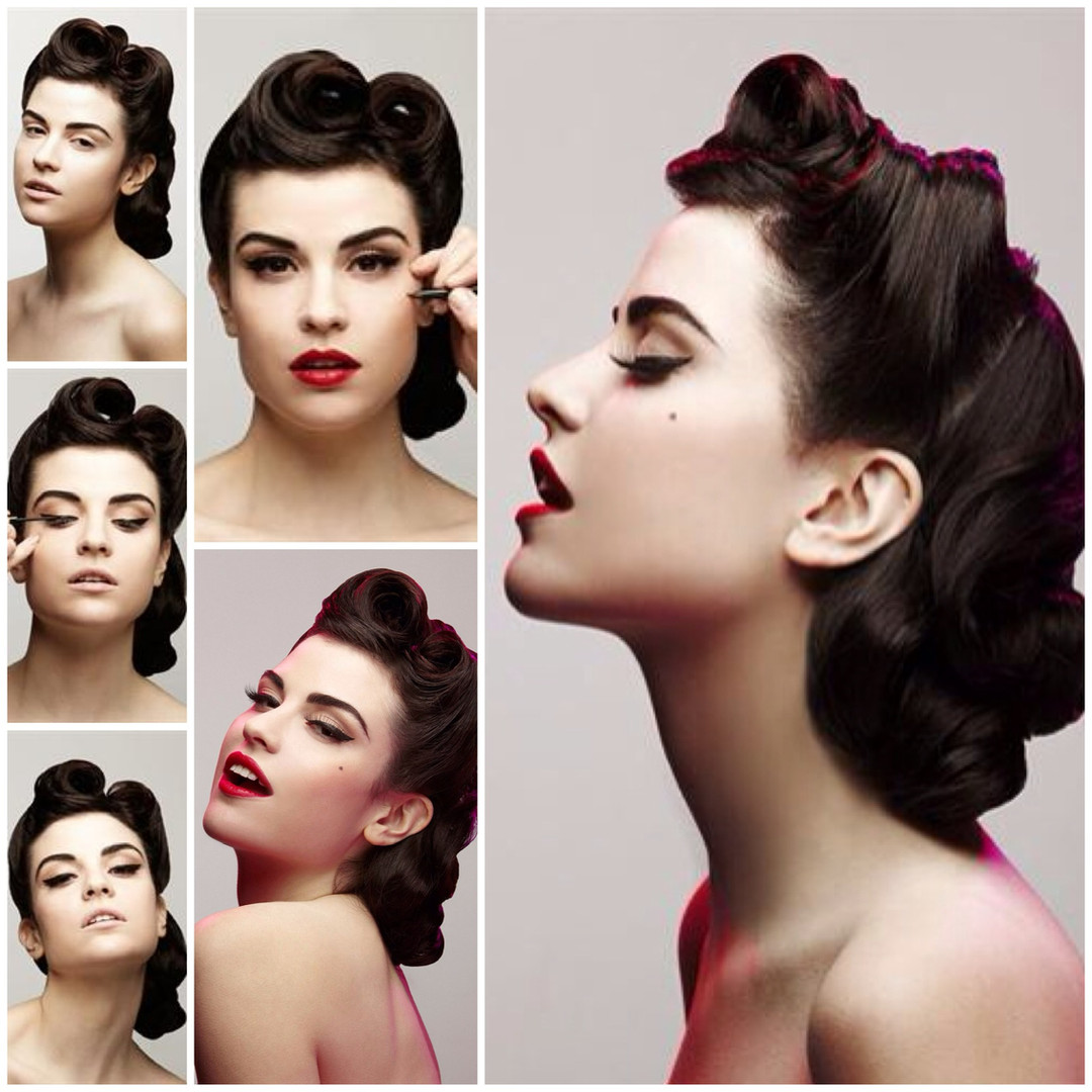 Pin-up Tutorial for Missy/Ink Magazine