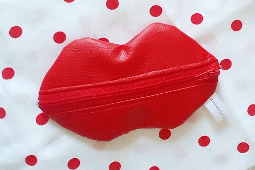 Petite pochette La bouche rouge