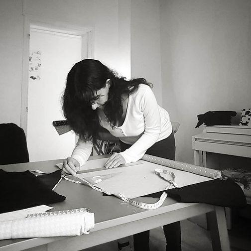 Virginie Legros Artisan créatrice d'accessoires textiles Mademoiselle Coquillette