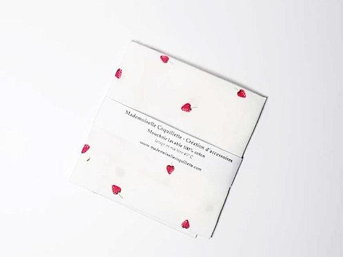 """Mouchoirs en tissu """"Fraise"""""""