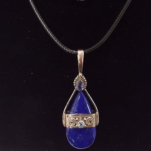Colante de Lapis Lazulis