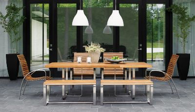 Tommy Bahama outdoor patio dining set