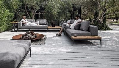 Gloster outdoor patio Sectional