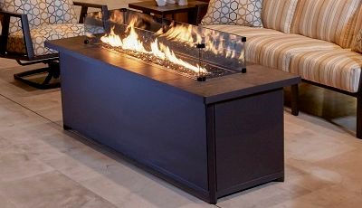 O.W.Lee outdoor patio fire pit