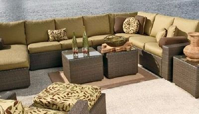 Ebel Outdoor Patio Furniture Sectional