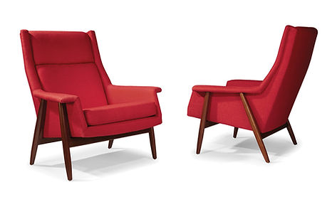 Laid Back Lounge Chairs by Milo Baughman