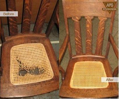 Parker Furniture - Parker's Partners - Leather Repair - Cane Repair
