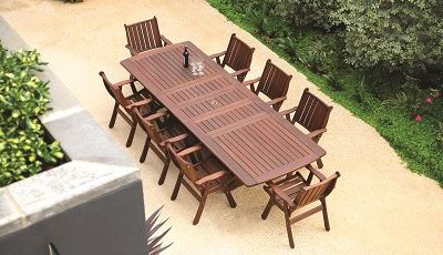 Jensen Leisure outdoor patio dining table