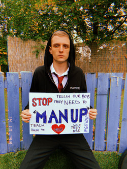 'Stop telling our boys to man up'
