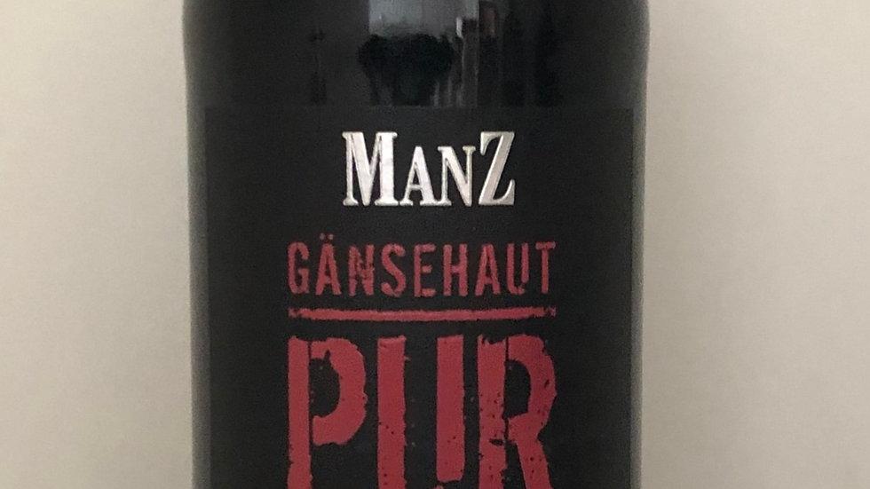 6x 2015er Cuvée Gänsehaut Pur Manz, Rheinhessen