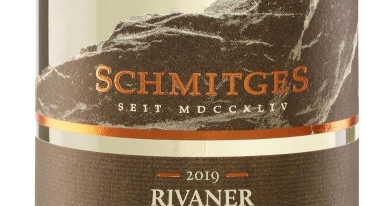 6x 2019er Rivaner trocken, Schmitges, Mosel