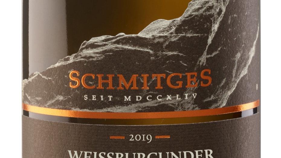 6x 2019er Weissburgunder trocken, Schmitges, Mosel