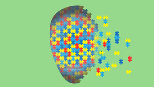 Autism connected with severe deficits in face-recognition